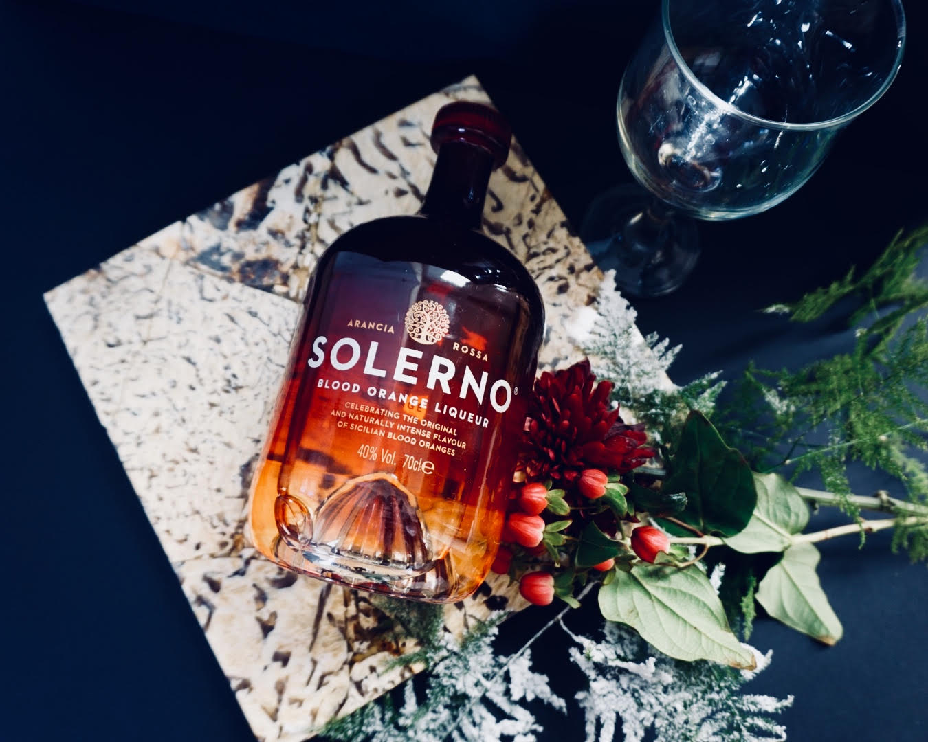 Christmas Cocktails with Solerno (@solernoliqueur)